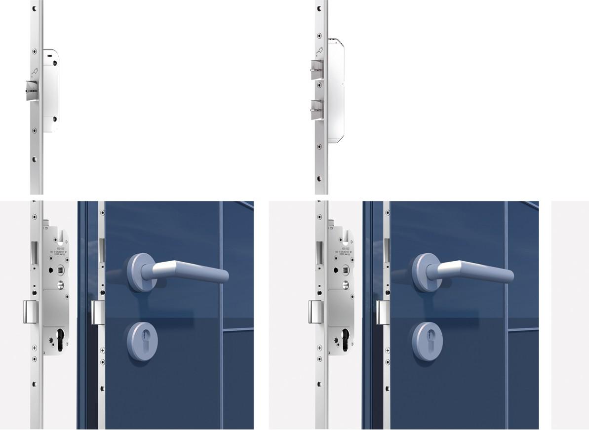 bejárati ajtó reteszelés