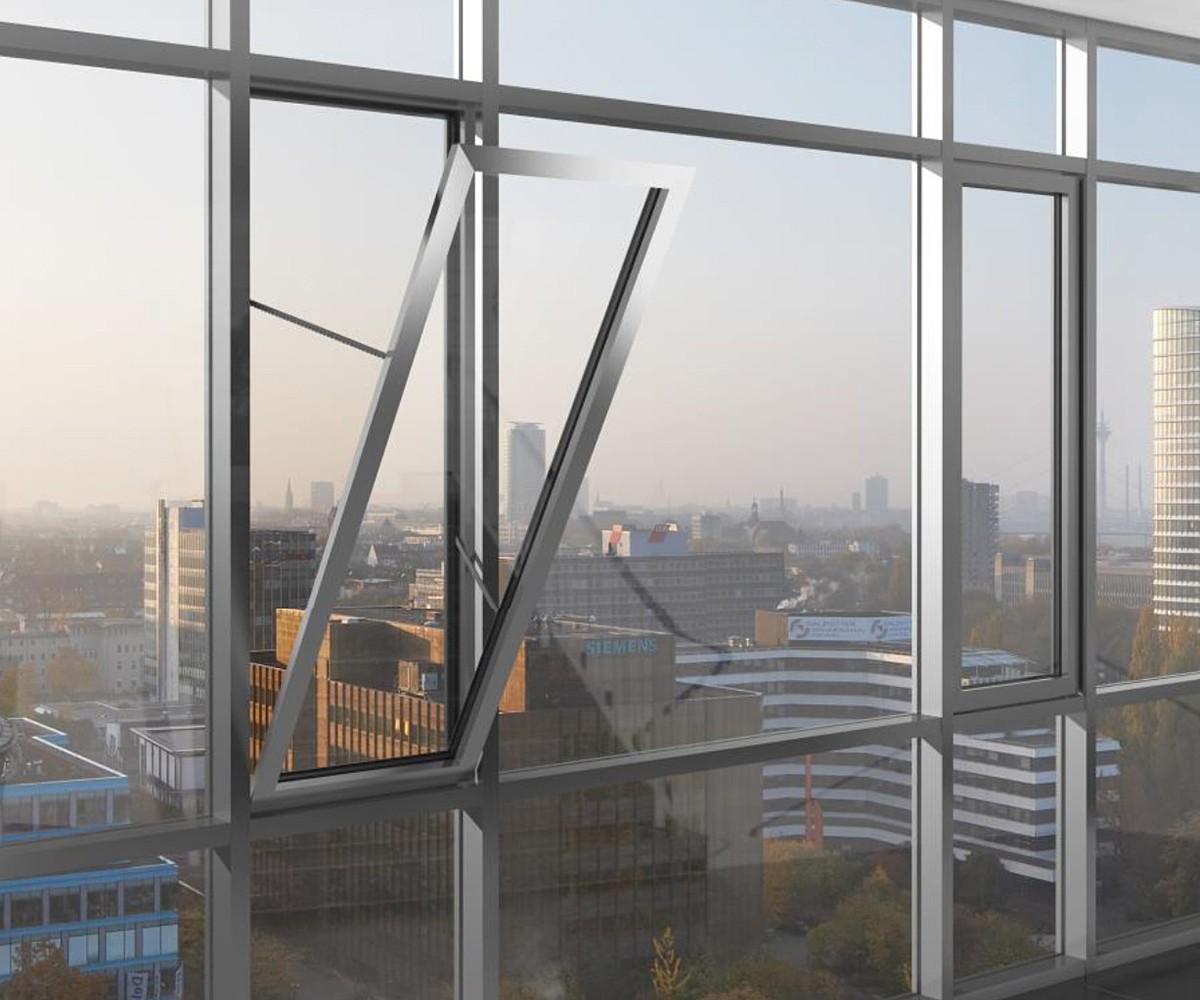 Hő- és füstelvezető ablak