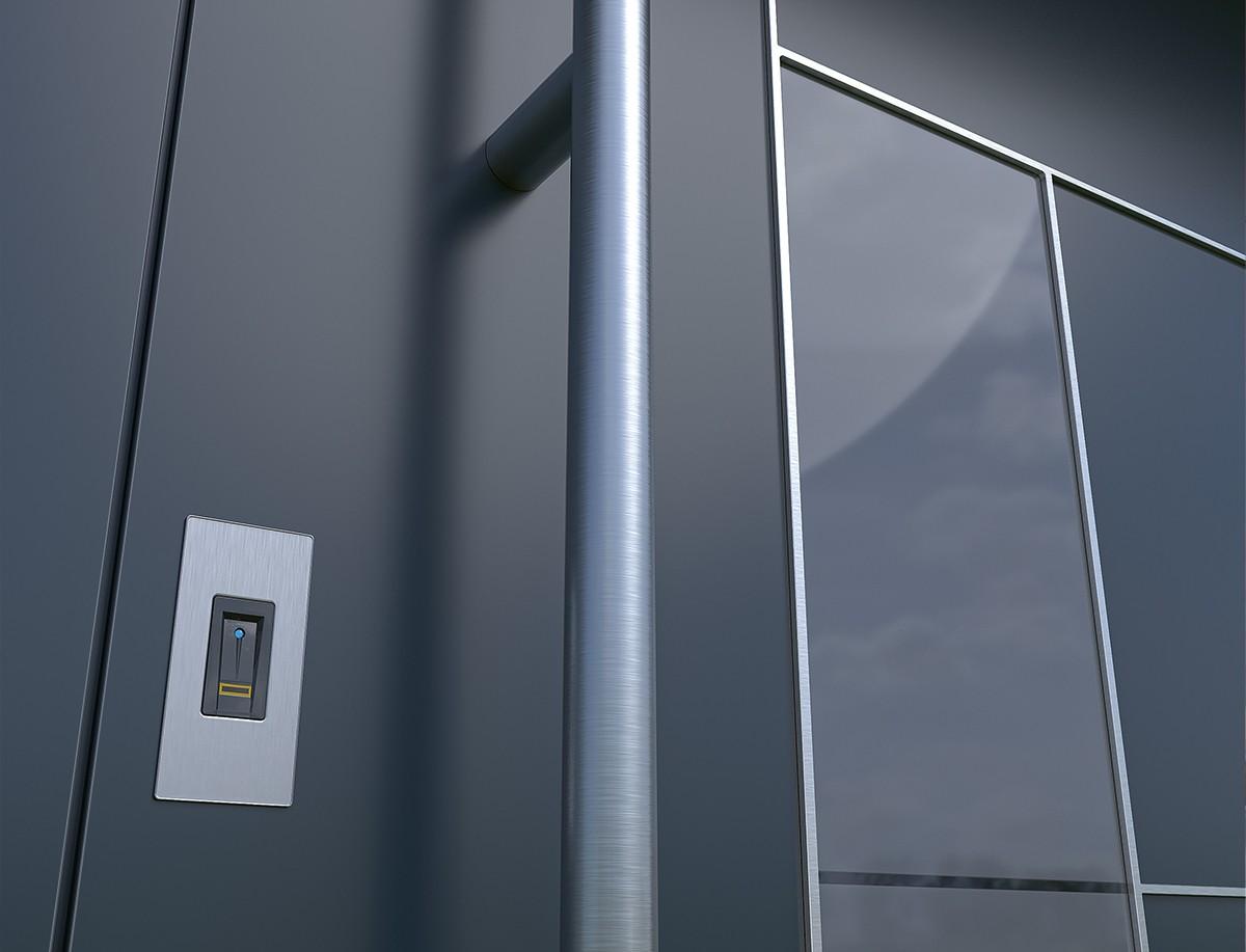 alumínium bejárati ajtó